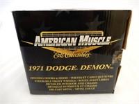 ERTL AMERICAN MUSCLE 1971 DODGE DEMON REPLICA/ BOX