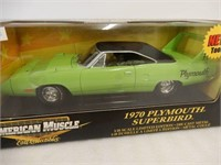 ERTL AMERICAN MUSCLE 1970 PLYMOUTH SUPERBIRD/ BOX