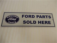 GROUPING OF 2 FORD S/S ALUMINUM SIGNS
