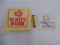 LOT OF WHITE ROSE COLLECTIBLES