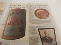 LOT OF 3 EN-AR-CO / WHITE ROSE PAPER ADVERTISING