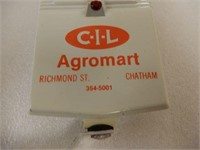 CIL AGROMART THERMOMETER/ BOX - NOS
