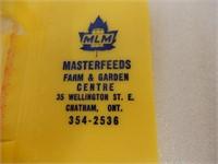 MASTERFEEDS FARM & GARDEN RAIN GAUGE RECORDER