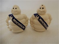 MICHELIN TIRE SALT & PEPPER SHAKERS / BOX