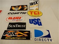 LOT OF 20 RACING DECALS- NOS
