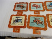 """LOT OF 8 CANADIAN EZE-HANG """"OLD TIMES"""" CALENDARS"""