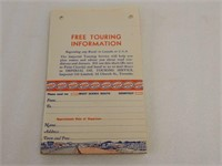 LOT IMPERIAL 3 STAR FREE TOURING INFORMATION ADV.