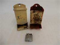 LOT OF 3 CIGARETTE COLLECTIBLES