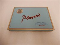 LOT OF 2 PLAYERS CIGARETTE TINS