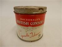 MACDONALD'S BRITISH CONSOLS 1/2 POUND 99 CENT CAN