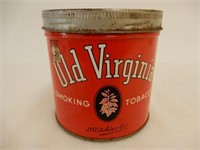 OLD VIRGINIA  SMOKING  TOBACCO CAN