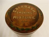 RARE CALABASH SMOKING MIXTURE UPRIGHT CAN