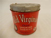 OLD VIRGINIA  SMOKING  TOBACCO 1/2 POUND CAN