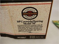 "ERTL McCORMICK -DEERING MODEL ""M"" REPLICA / BOX"