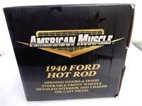 ERTL 1940 FORD HOT ROD REPLICA / BOX
