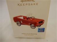 HALLMARK 19641/2 FORD MUSTANG KIDDIE CAR MODEL/BOX