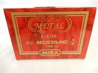 MIRA 1964 FORD MUSTANG REPLICA / BOX
