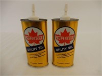 2 SUPERTEST UTILITY OIL 4 OZ. OILERS