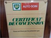 SET OF 2 BP AUTOCARE FRANCHISE AWARDS