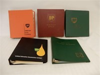 LOT OF 5 BP SALES- TECHNICAL-SERVICE STATION BOOKS