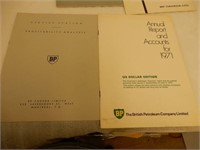 LOT OF 1970'S BP GAS & OIL PRODUCT BROCHURES