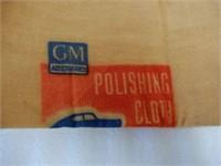 GM POLISHING CLOTH TIN/ CONTENTS - NOS