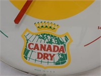 """CANADA DRY """"SMILEY FACE"""" JUMBO THERMOMETER"""