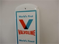 VALVOLINE RACING OIL METAL THERMOMETER - NEW