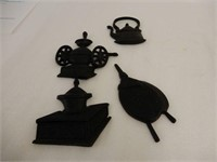 LOT OF VINTAGE STYLE DECORATIVE COLLECTIBLES