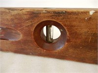 LARGE WOODEN CARPENTERS LEVEL