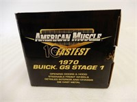 ERTL 1970 BUICK GS STAGE 1 MODEL CAR / BOX