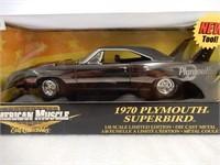 ERTL 1970 PLYMOUTH SUPERBIRD MODEL CAR / BOX