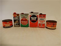 LOT OF 6 MOTOMASTER OIL COLLECTIBLES