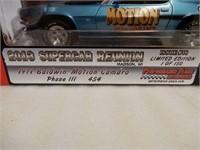 ERTL 1971 BALDWIN MOTION CAMARO MODEL CAR / BOX
