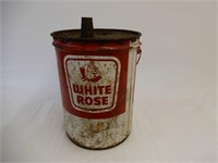 WHITE ROSE 5 GALLONS CAN