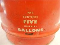 B/A 5 IMP. GAL. OIL CAN