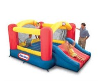 LITTLE TIKES JUMP N SLIDE BOUNCER(NO PUMP)