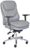 SERTA FAUX LEATHER OFFICE CHAIR *NOT ASSEMBLED*