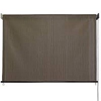 BAJA EXTERIOR ROLL UP SOLAR SHADE 8 X 6'
