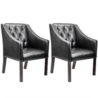 CORLIVING ACCENT CLUB CHAIRS *2 IN TOTAL;