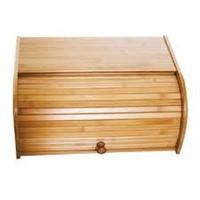 LIPPER BAMBOO ROLL TOP BREAD BOX