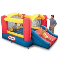 LITTLE TIKES JUMP N SLIDE (NOT ASSEMBLED) (USED)