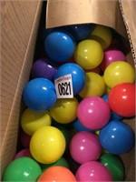 THROWING PLASTIC BALLS