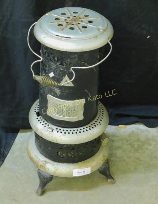 Vintage Oil Heater Bid Kato