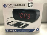 TIMER PLAY YOUR MUSIC DUAL ALARM