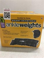 GO FIT ANKLE WEIGHTS 5 LBS EACH