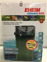 EHEIM CLASSIC 600 EXTERNAL CANISTER FILTER FOR
