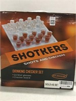 SHOTKERS DRINKING CHECKERS SET