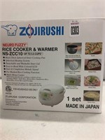 ZOJIRUSHI RICE COOKER UP TO 5.5 CUPS