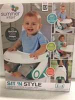 SUMMER INFANT SIT N STYLE 6MONTHS-2YRS OLD